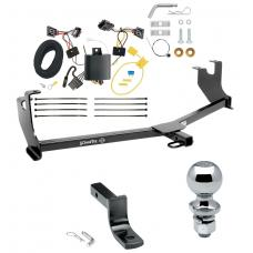 """Trailer Tow Hitch For 14-19 Volkswagen Beetle Except R-Line GSR Complete Package w/ Wiring Draw Bar and 2"""" Ball"""