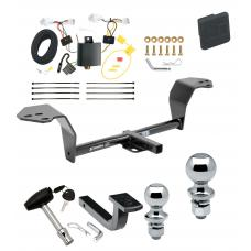 """Trailer Tow Hitch For 2014 Lexus IS350 Deluxe Package Wiring 2"""" and 1-7/8"""" Ball and Lock"""