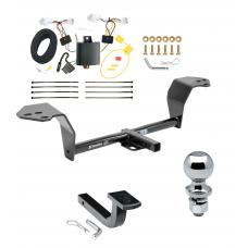 """Trailer Tow Hitch For 2014 Lexus IS350 Complete Package w/ Wiring Draw Bar and 2"""" Ball"""