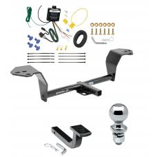 """Trailer Tow Hitch For 14-15 Lexus IS250 14-20 IS350 Except Convertible Complete Package w/ Wiring Draw Bar and 2"""" Ball"""