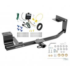 Trailer Hitch For 15-18 Volkswagen Jetta Sedan Except Hybrid & TDI Trailer Hitch Tow Receiver w/ Wiring Harness Kit