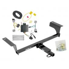 Trailer Tow Hitch For 14-19 Cadillac CTS Sedan Trailer Hitch Tow Receiver w/ Wiring Harness Kit