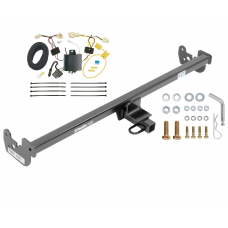 Trailer Tow Hitch For 15-19 Toyota Yaris Except SE Trailer Hitch Tow Receiver w/ Wiring Harness Kit