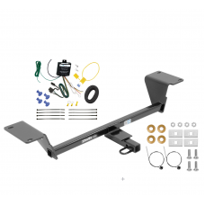 Trailer Tow Hitch For 15-18 Audi A3 Except Sportback e-tron Trailer Hitch Tow Receiver w/ Wiring Harness Kit
