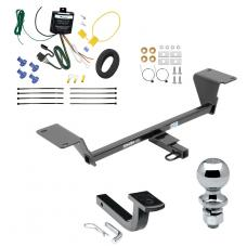 """Trailer Tow Hitch For 15-20 Audi A3 Except Sportback e-tron Complete Package w/ Wiring Draw Bar and 2"""" Ball"""