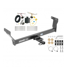 Trailer Tow Hitch For 14-20 Infiniti Q50 Trailer Hitch Tow Receiver w/ Wiring Harness Kit