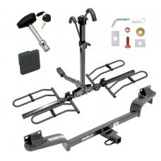 Trailer Tow Hitch For 16-20 Mazda CX-3 Platform Style 2 Bike Rack w/ Hitch Lock and Cover