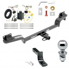 """Trailer Tow Hitch For 16-20 Mazda CX-3 Complete Package w/ Wiring Draw Bar and 2"""" Ball"""