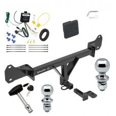 "Trailer Tow Hitch For 15-17 BMW 528i 535d 535i 550i Deluxe Package Wiring 2"" and 1-7/8"" Ball and Lock"