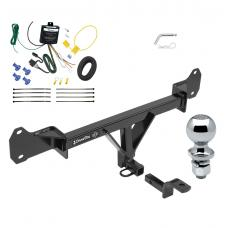 "Trailer Tow Hitch For 15-17 BMW 528i 535d 535i 550i Complete Package w/ Wiring Draw Bar and 2"" Ball"