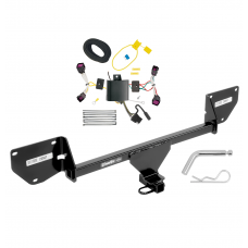 Trailer Tow Hitch For 16-20 Chevy Spark w/ Wiring Harness Kit