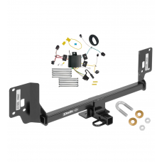 Trailer Tow Hitch For 15-19 Acura TLX Trailer Hitch Tow Receiver w/ Wiring Harness Kit