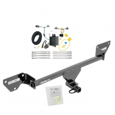 Trailer Tow Hitch For 16-19 Chevy Cruze (New Body Style) Trailer Hitch Tow Receiver w/ Wiring Harness Kit