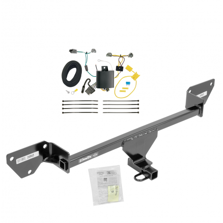 16-19 Chevy Cruze (New Body Style) Trailer Hitch Tow Receiver w/ Wiring Harness Kit
