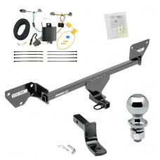 """Trailer Tow Hitch For 16-19 Chevy Cruze Complete Package w/ Wiring Draw Bar and 2"""" Ball"""
