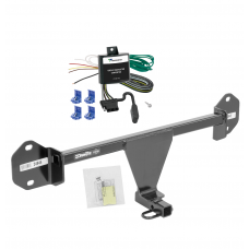 Trailer Tow Hitch For 12-14 BMW 320i Trailer Hitch Tow Receiver w/ Wiring Harness Kit