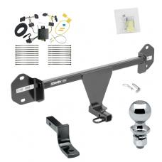 """Trailer Tow Hitch For 16-17 BMW 320i 16 328d 328i Complete Package w/ Wiring Draw Bar and 2"""" Ball"""