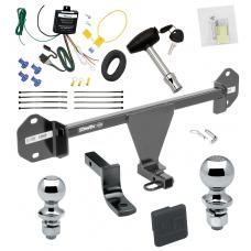 """Trailer Tow Hitch For 2015 BMW 320i 328i Deluxe Package Wiring 2"""" and 1-7/8"""" Ball and Lock"""