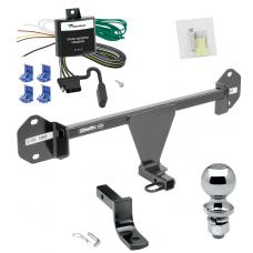 """Trailer Tow Hitch For 12-14 BMW 320i Complete Package w/ Wiring Draw Bar and 2"""" Ball"""