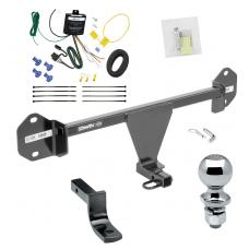 """Trailer Tow Hitch For 12-14 BMW 320i 328d 328i 335i Complete Package w/ Wiring Draw Bar and 2"""" Ball"""