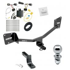 """Trailer Tow Hitch For 16-19 Chevy Volt Complete Package w/ Wiring Draw Bar and 2"""" Ball"""