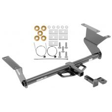 Trailer Tow Hitch For 2019 Toyota Yaris 17-18 iA 2016 Scion iA Receiver w/ Draw Bar Kit