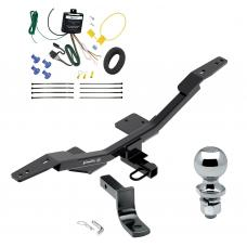 """Trailer Tow Hitch For 09-19 Audi A4 4 Dr. Sedan Complete Package w/ Wiring Draw Bar and 2"""" Ball"""