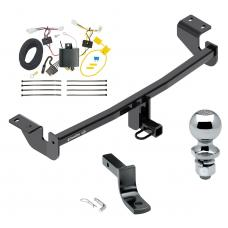 "Trailer Tow Hitch For 2016 Toyota iM 17-18 Corolla iM Complete Package w/ Wiring Draw Bar and 2"" Ball"