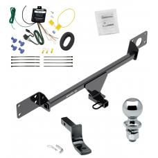 """Trailer Tow Hitch For 15-21 Mercedes-Benz C300 Sedan Except Sport Package Complete Package w/ Wiring Draw Bar and 2"""" Ball"""
