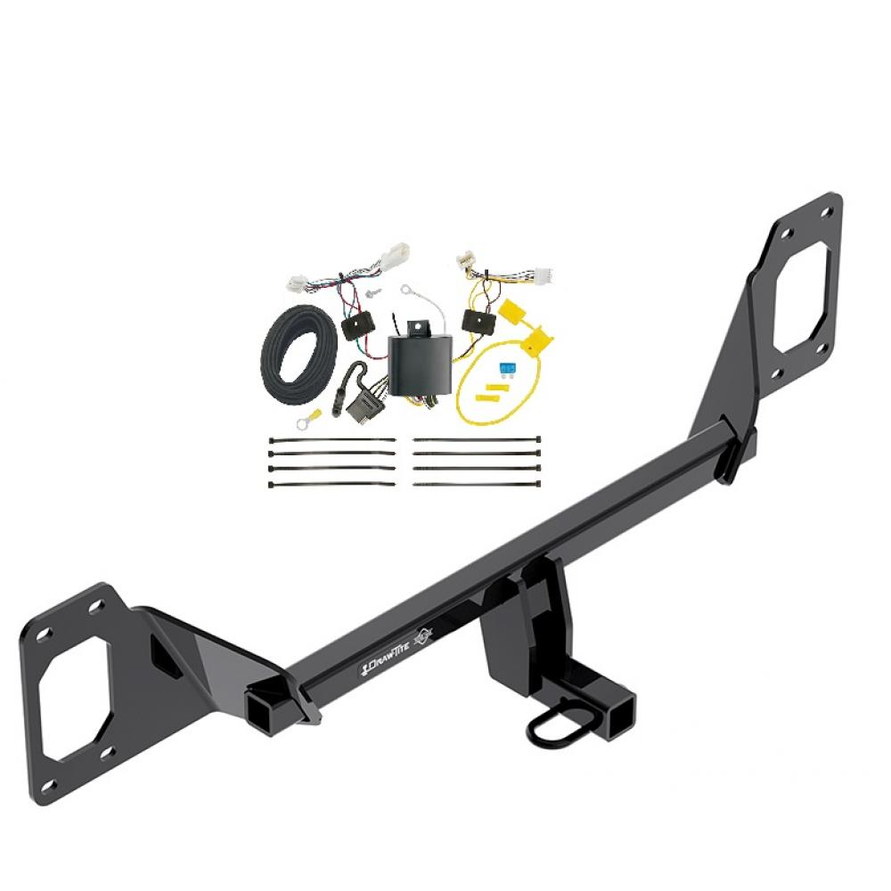 trailer hitch tow receiver w wiring harness kit for 2016. Black Bedroom Furniture Sets. Home Design Ideas