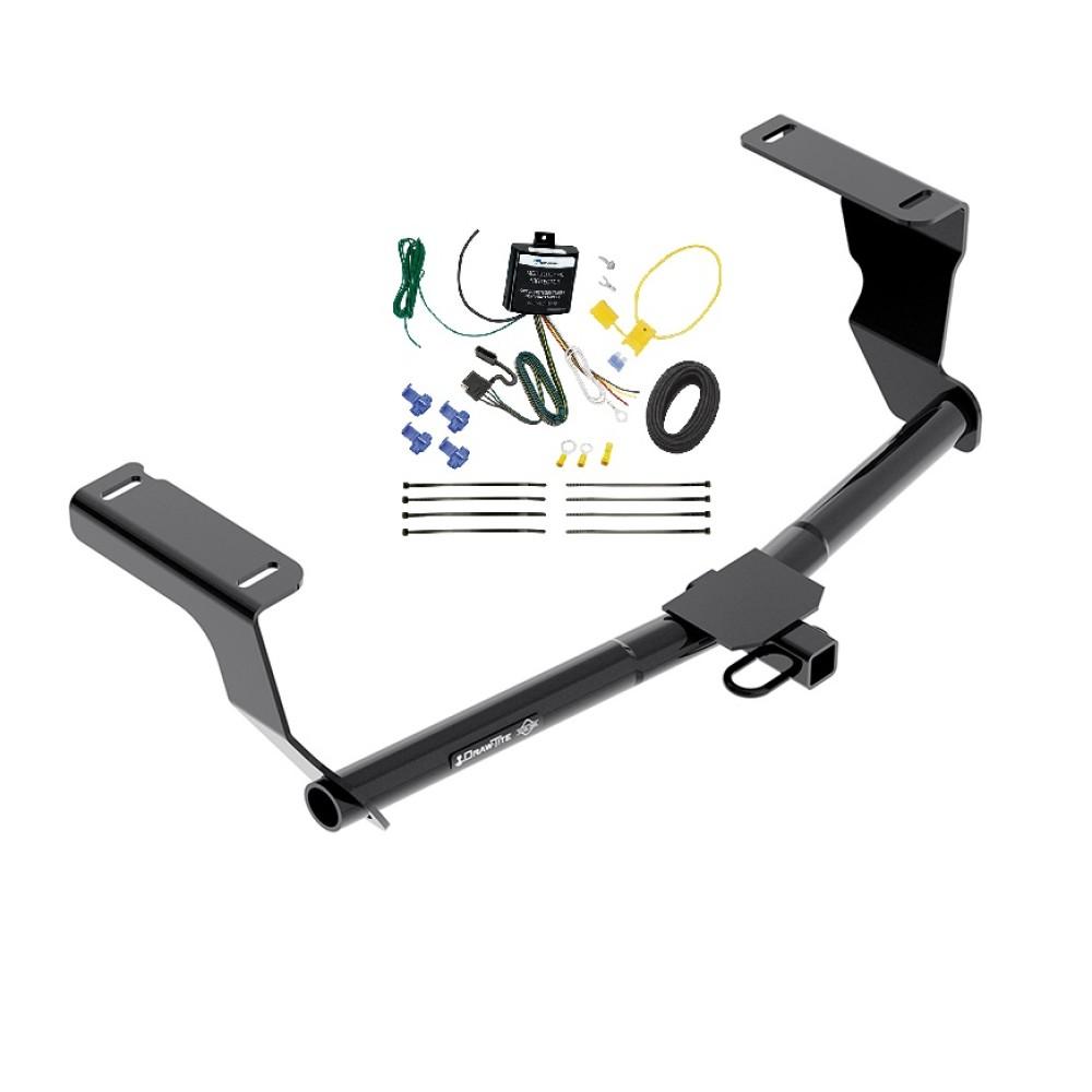 trailer hitch w/ wiring harness kit for 08-11 subaru impreza wagon 1-1/4