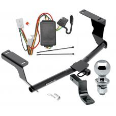 """Trailer Tow Hitch For 13-15 Subaru XV Crosstrek Complete Package w/ Wiring Draw Bar and 2"""" Ball"""