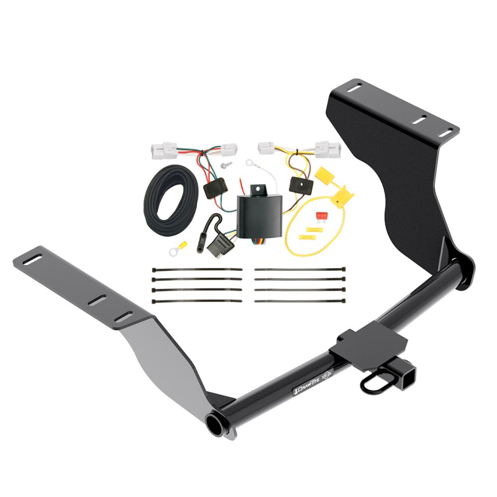 Superb Trailer Hitch W Wiring Harness Kit For 12 16 Subaru Impreza Sedan Wiring Digital Resources Millslowmaporg