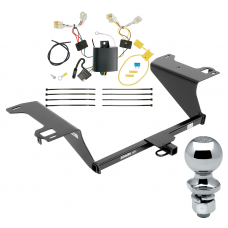 "Trailer Tow Hitch For 11-16 Hyundai Sonata Hybrid Complete Package w/ Wiring Draw Bar and 2"" Ball"