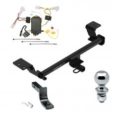 "Trailer Tow Hitch For 10-15 Toyota Prius Complete Package w/ Wiring Draw Bar and 2"" Ball"
