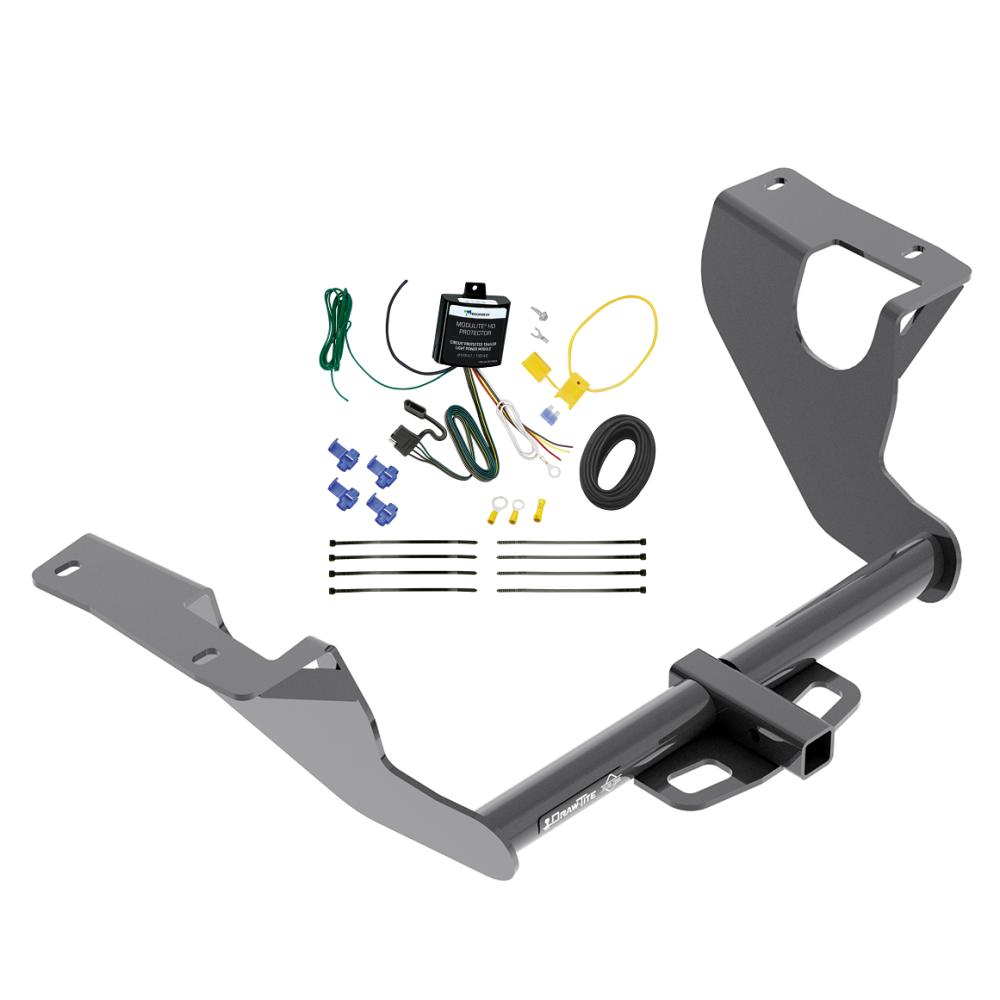Trailer Hitch w/ Wiring Harness Kit For 15-19 Subaru WRX 1-1/4