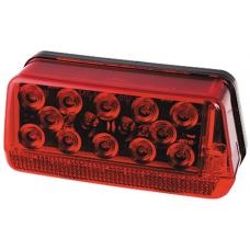 Wesbar Wrap-Around LED Waterproof Trailer Taillight 7-Function Right/Curbside Over 80in