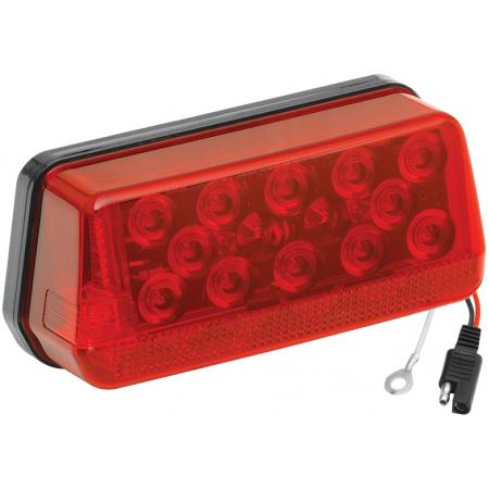 Wesbar Wrap-Around LED Waterproof Trailer Taillight 8-Function Over 80in Left/Roadside