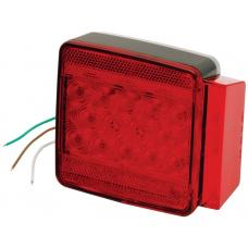 Wesbar LED Trailer Taillight Submersible Under 80in 6-Function Right/Curbside Boat Light
