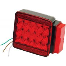 Wesbar LED Trailer Taillight Submersible Over 80in Right/Curbside Boat Light