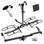 Trailer Tow Hitch For 04-06 Scion xB Platform Style 2 Bike Rack w/ Hitch Lock and Cover