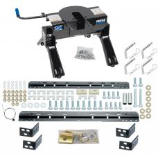 2007-2018 Toyota Tundra Pro Series 20K Fifth Wheel Hitch w/ Base Rail Kit w/ 25K Plate Brackets Rails Hardware