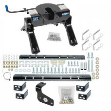 2015-2018 Ford F150 All Styles Pro Series 20K Fifth Wheel Hitch w/ Base Rail Kit w/ 25K Plate Brackets Rails Hardware