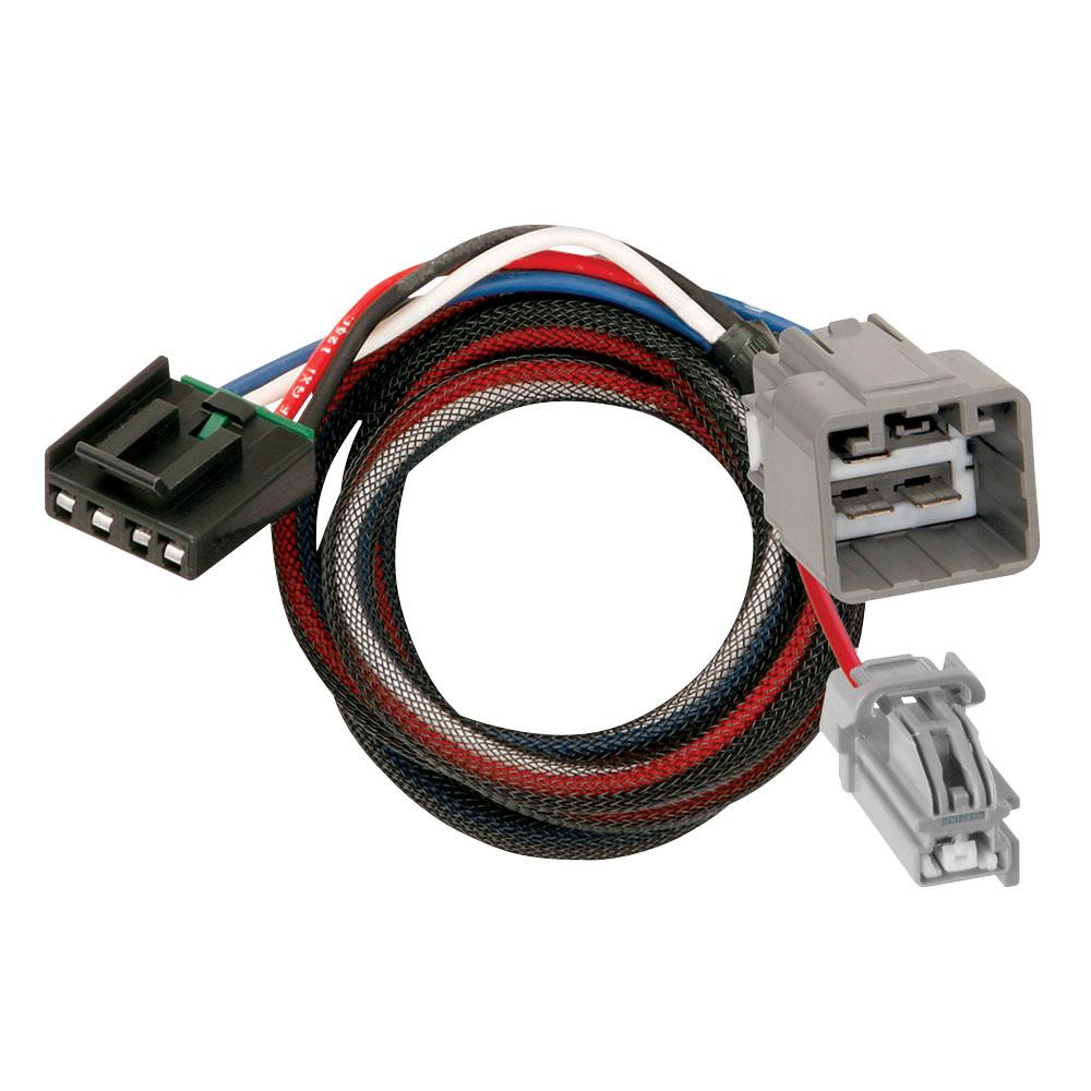 13-14 Ram 1500 2500 3500 Trailer Brake Control Wiring 2-Plug Adapter  Connector Plug Play DodgeTrailerJacks.com