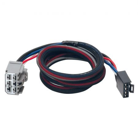 07-18 Chevy Traverse GMC Acadia Buick Enclave Trailer Brake Control Wiring 2-Plug Adapter Connector Expedition Plug Play