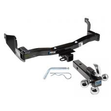 "Reese Trailer Tow Hitch Receiver For 93-98 Mercury Villager Nissan Quest w/Tri-Ball Triple Ball 1-7/8"" 2"" 2-5/16"""