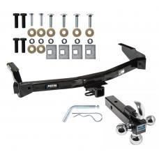 "Reese Trailer Tow Hitch Receiver For 94-98 Dodge Van B Series 99-03 Ram Van 1500 2500 3500 w/Tri-Ball Triple Ball 1-7/8"" 2"" 2-5/16"""
