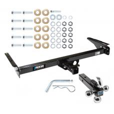 "Reese Trailer Tow Hitch Receiver For 93-98 Toyota T100 w/Tri-Ball Triple Ball 1-7/8"" 2"" 2-5/16"""