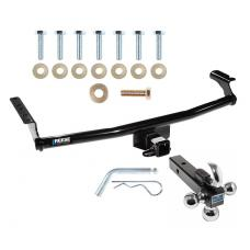 "Reese Trailer Tow Hitch Receiver For 01-06 Hyundai Santa Fe w/Tri-Ball Triple Ball 1-7/8"" 2"" 2-5/16"""