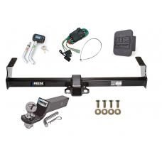 "Reese Trailer Tow Hitch For 99-05 Suzuki Grand Vitara Chevy Tracker 01-06 XL-7 Deluxe Package Wiring 2"" Ball and Lock"